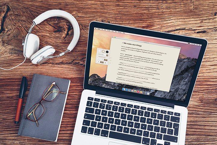 markdown mac logiciel ecriture typed - Typed, l'écriture Zen
