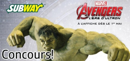 concours subway avengers age of ultron 520x245 - Gagnez une carte cadeau @SubwayCanadaFr de 250$! [Concours]