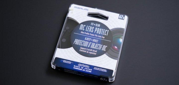 filtre fit slim marumi - Filtre Lens Protect de Marumi [Test]