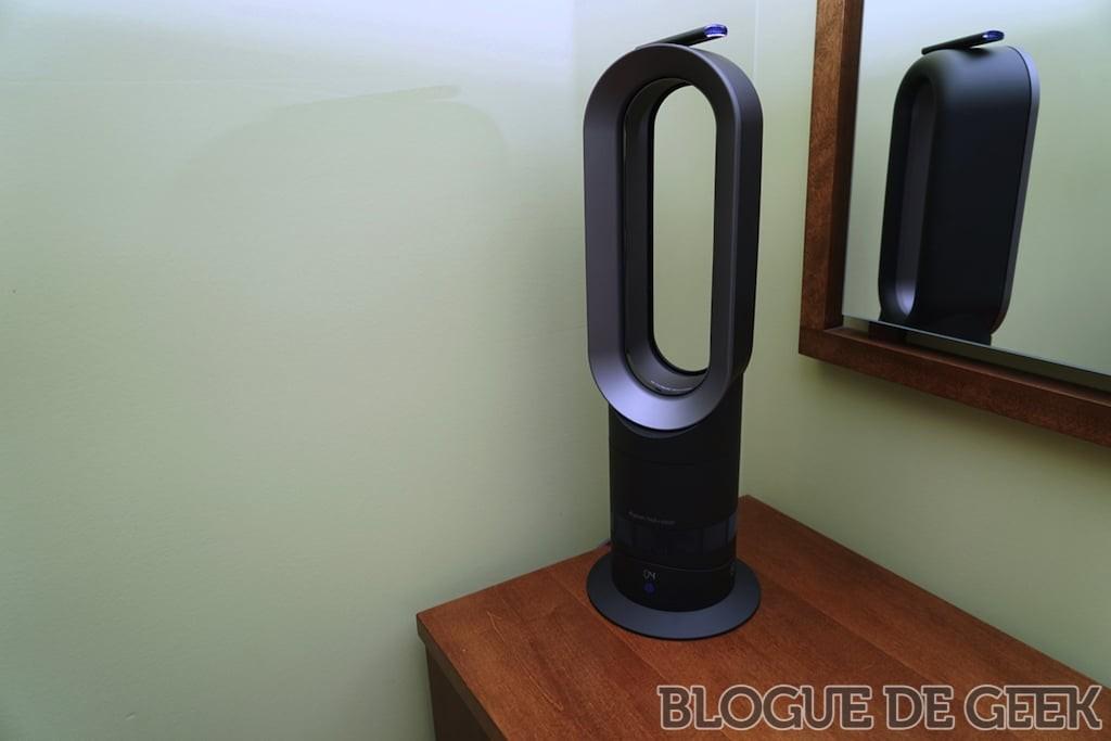 ventilateur chaufferette dyson am09 test. Black Bedroom Furniture Sets. Home Design Ideas