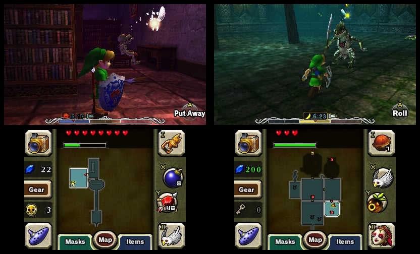 Legend of Zelda Majora's Mask 3DS