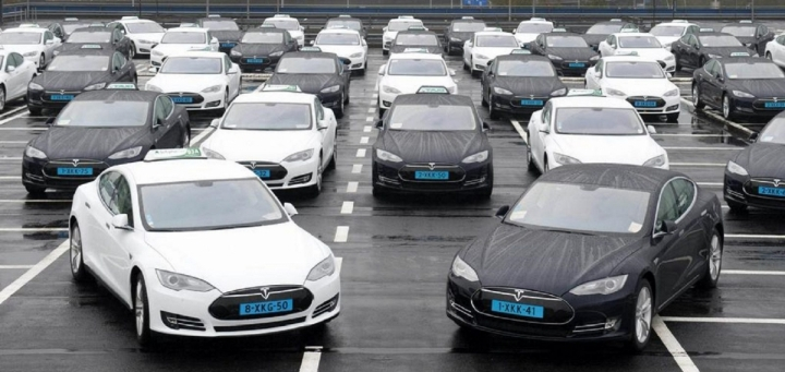 Flotte voiture électrique